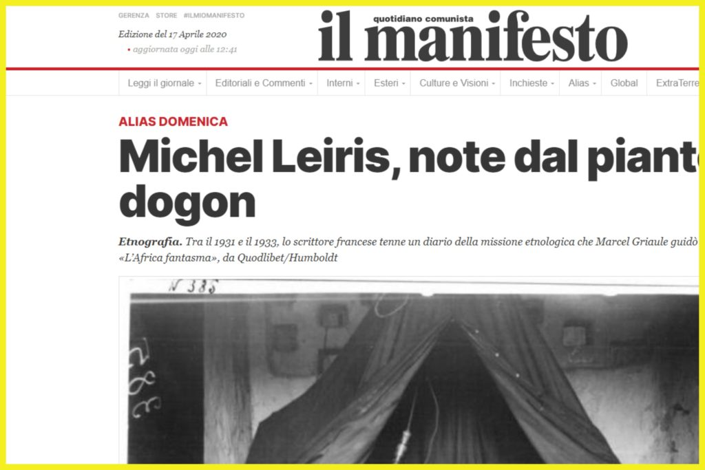 il manifesto - Alias