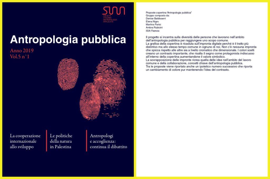 Antropologia Pubblica: progetto 1